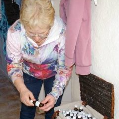 Sally wood with homeopathy
